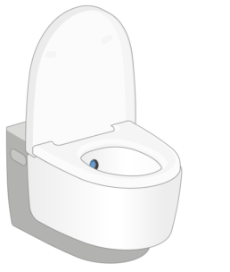 Geberit AquaClean shower toilet - 1. A clean thing - Touchfree Toilet