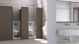 Public space toilet - Shower toilets - Touchfree Toilet