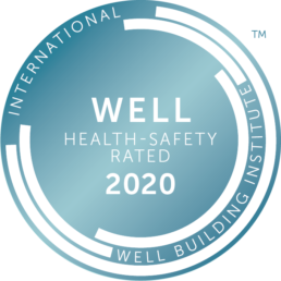 WELL Health-Safety 2020 logo - Touchfree Toilet