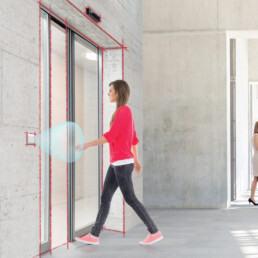 Whitepaper Hygiene in focus - Touch-free access in a clean building